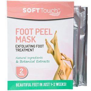 Soft Touch Foot Peel Mask Review