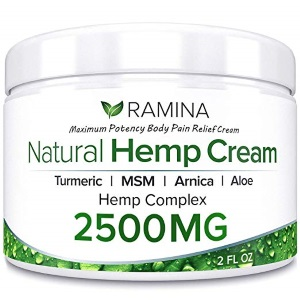 Ramina Natural Hemp Extract Pain Relief Cream